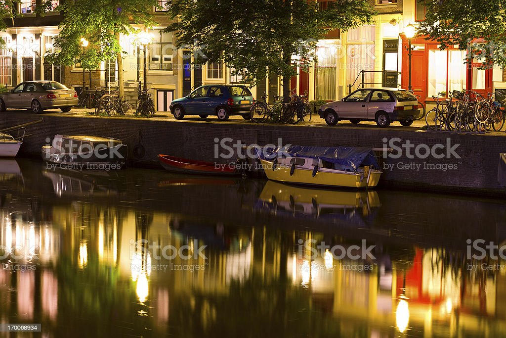 Amsterdam, The Netherlands royalty-free stock photo