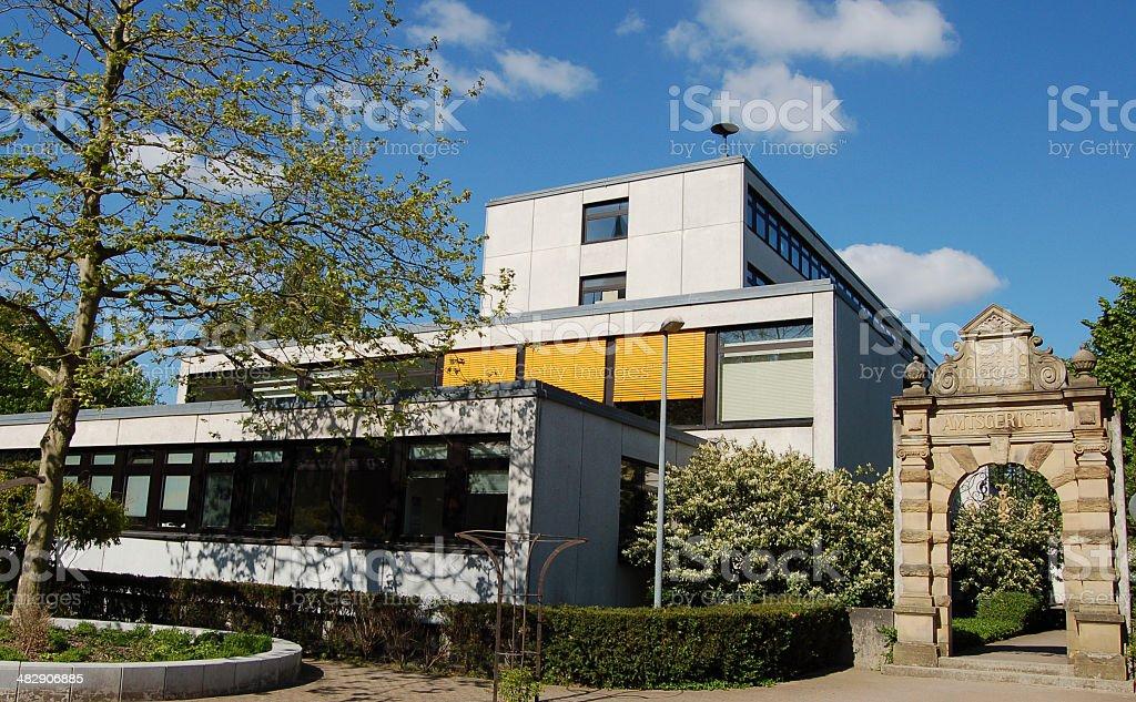 Amtsgericht in Pinneberg stock photo