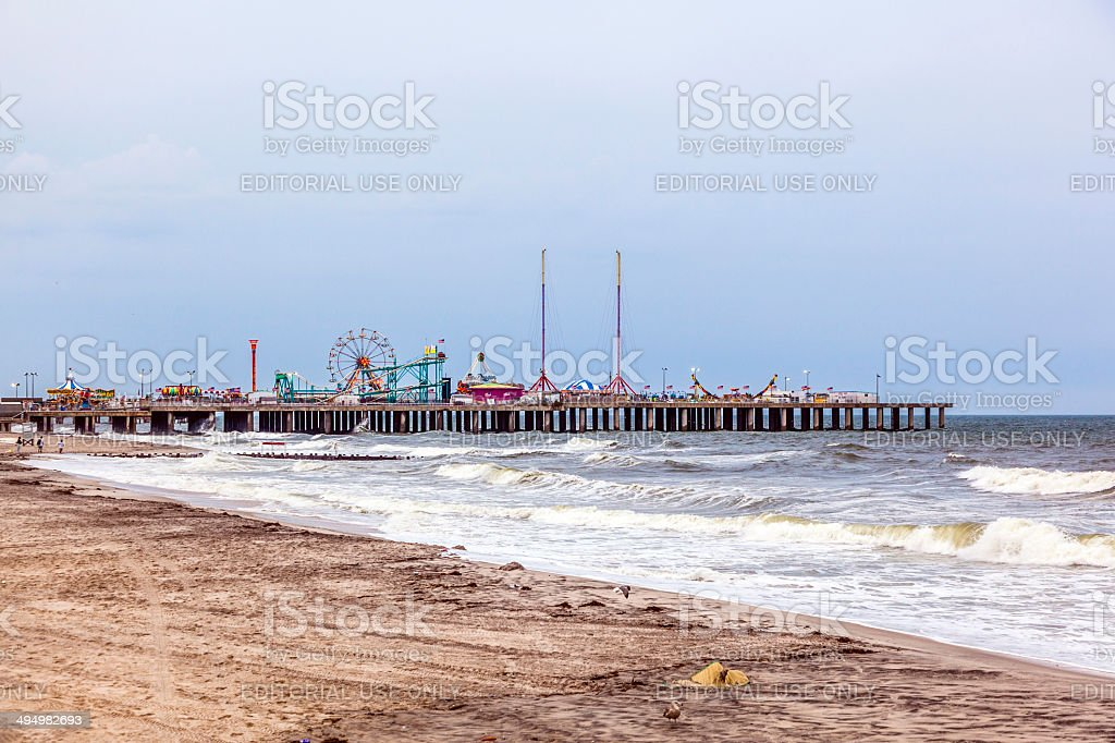 Amuesment Park at Steel Pier Atlantic City, NJ royalty-free stock photo
