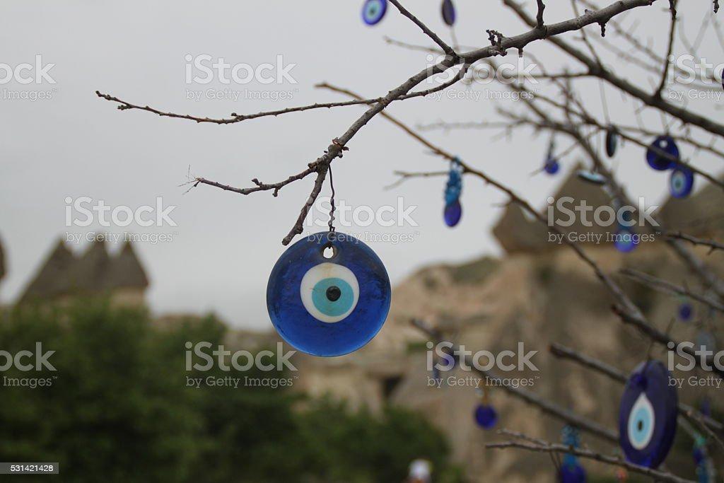 Amulet - Nazar Boncuğu stock photo