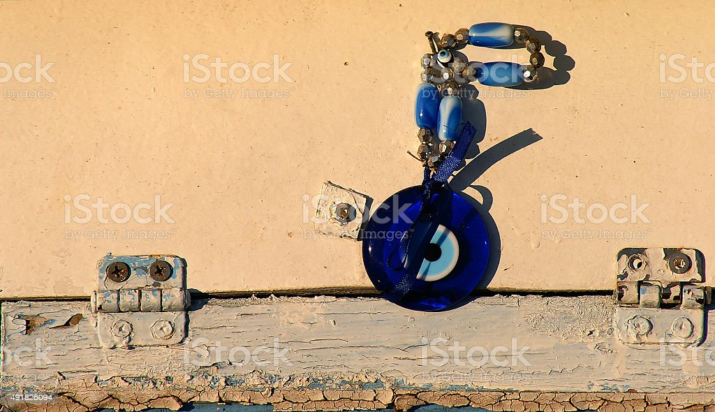 Amulet,charm in Turkish Culture stock photo