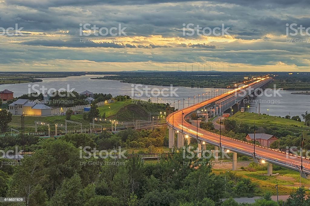 Amur miracle stock photo
