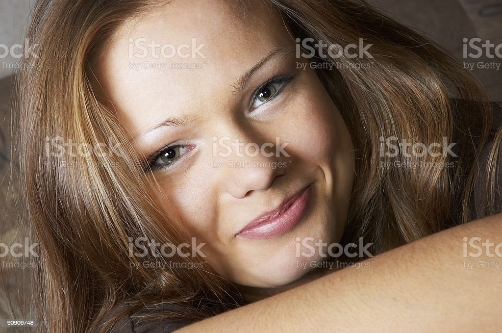 amused glance royalty-free stock photo