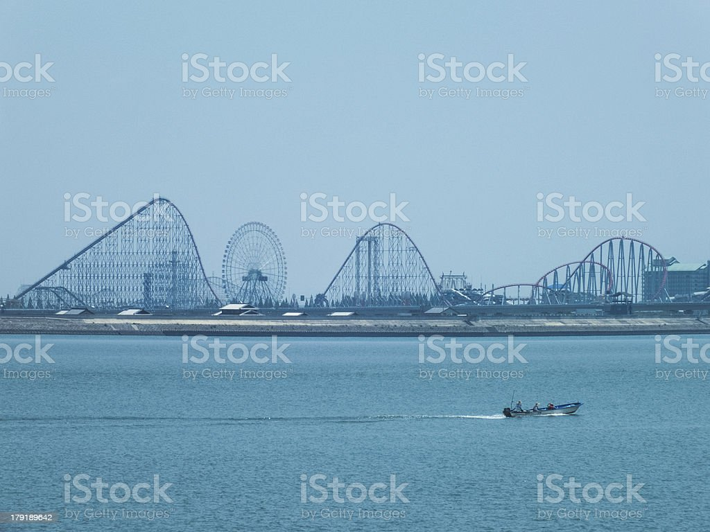 amusement ground and technology royalty-free stock photo