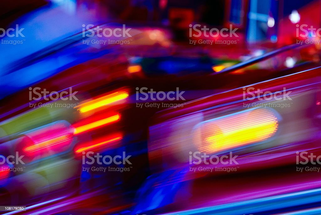 Amusement Park Background royalty-free stock photo