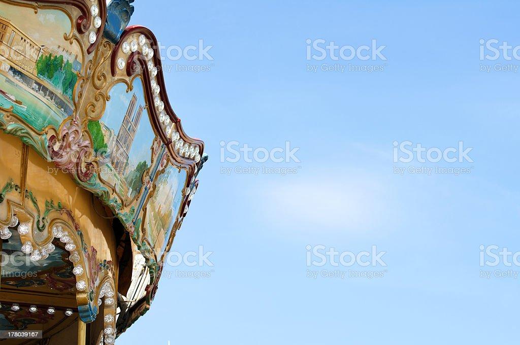 Amusement park details royalty-free stock photo