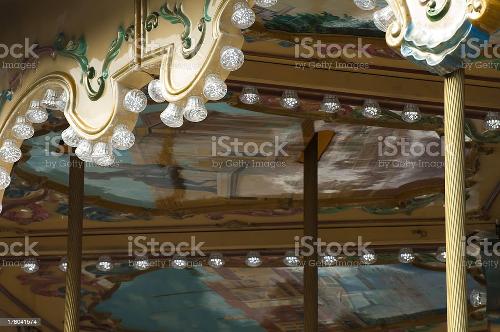 Amusement park details royalty-free stock photo