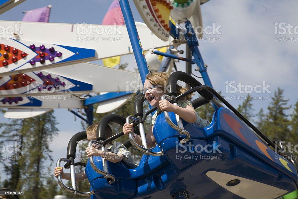 Amusement Park Fun royalty-free stock photo