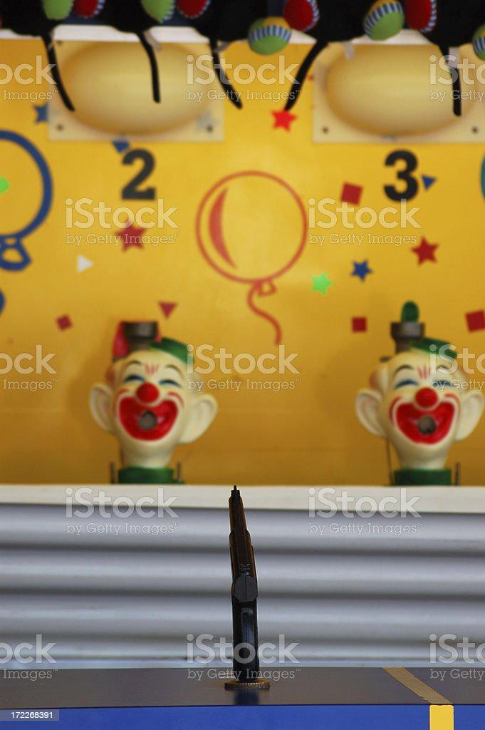 Amusement park game royalty-free stock photo