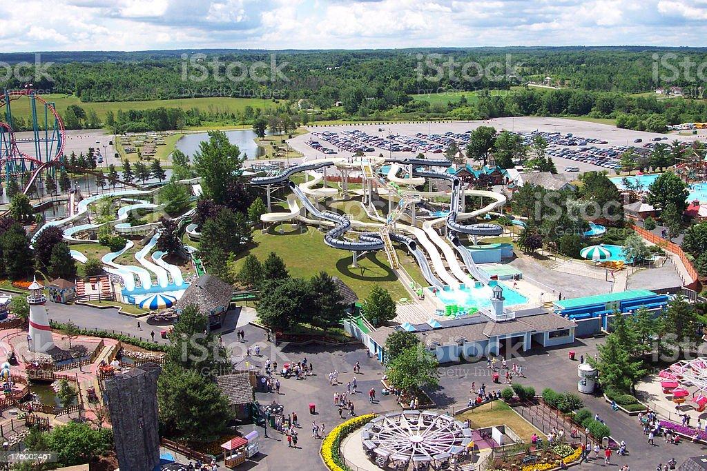 Amusement Park royalty-free stock photo