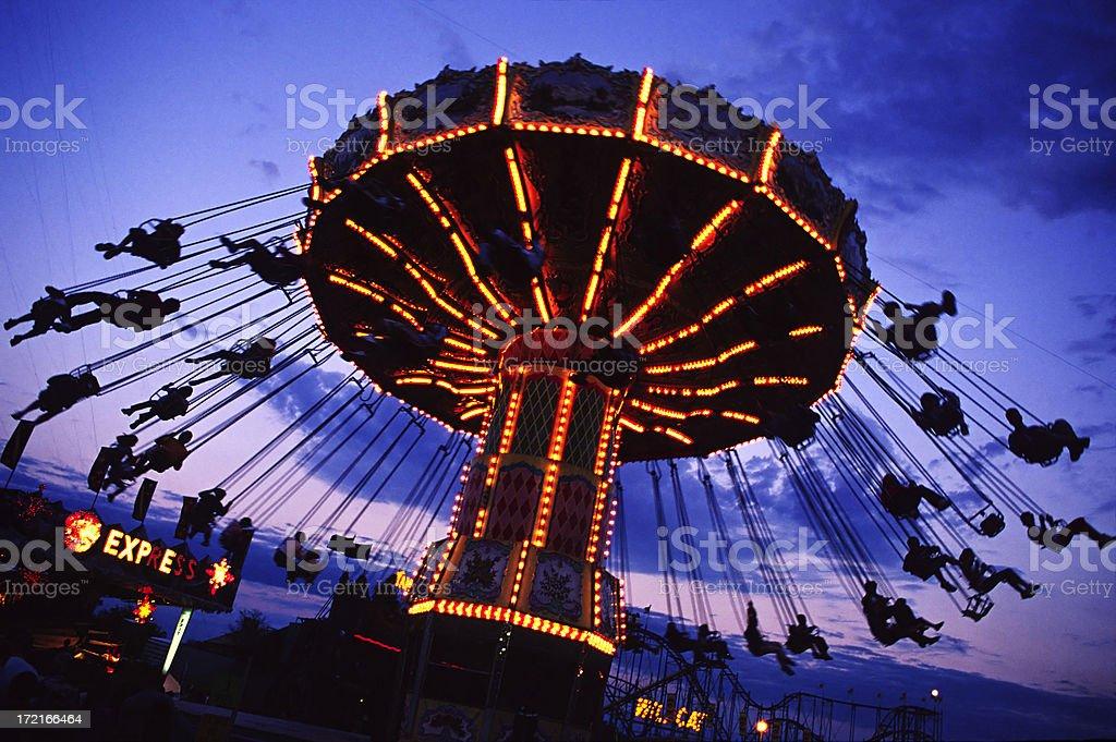 Amusement Park Ride 1 royalty-free stock photo