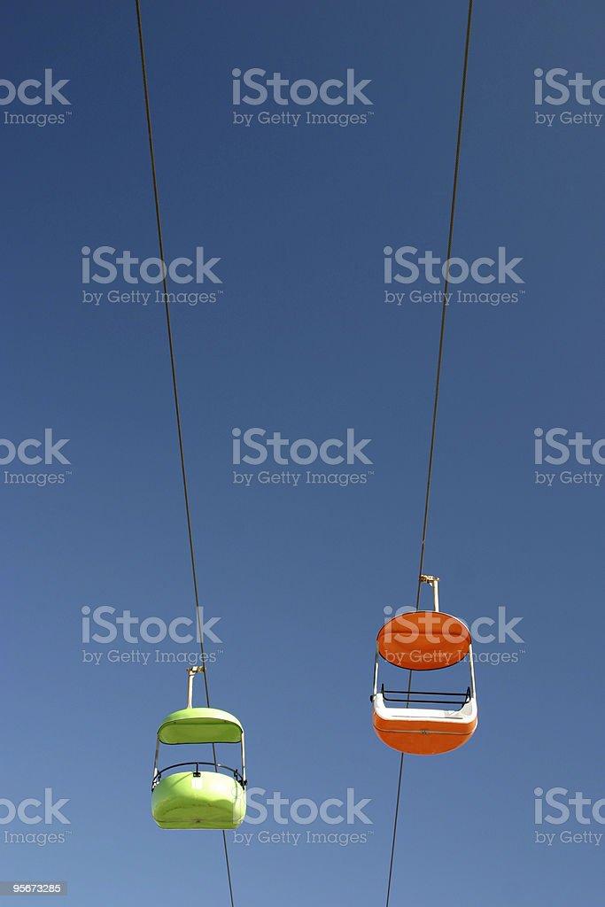 Amusement Park Ride royalty-free stock photo