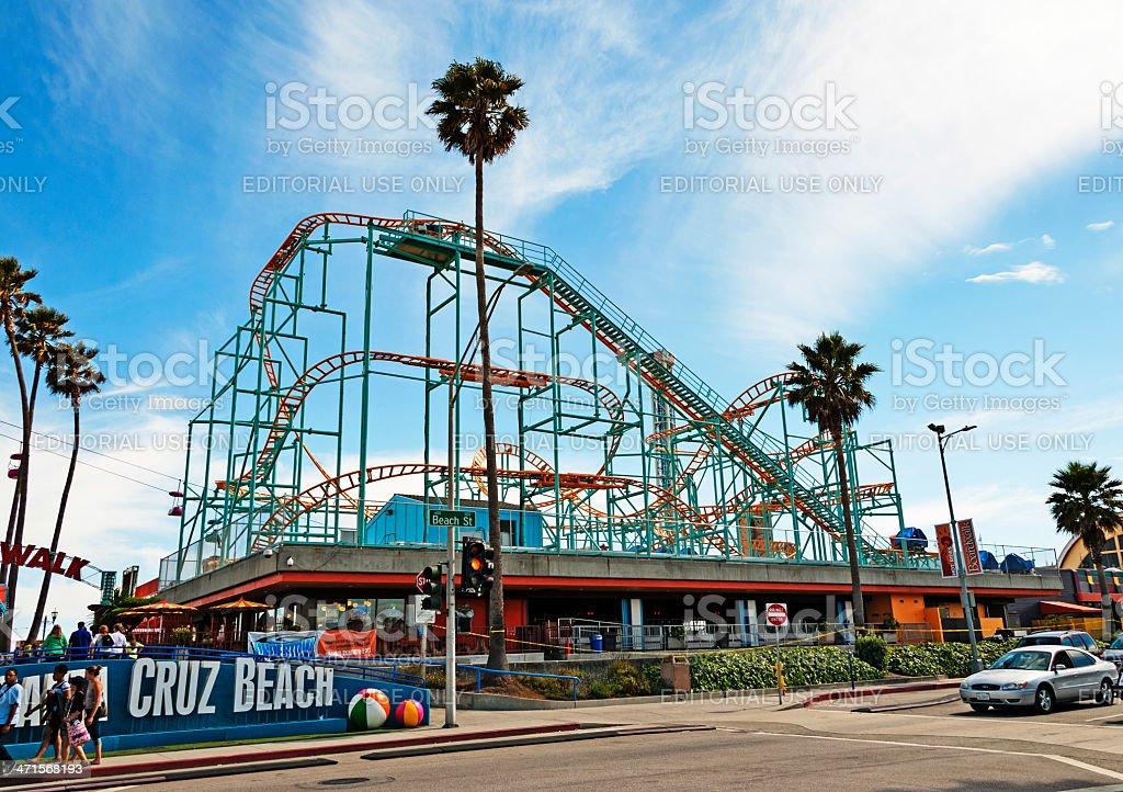 Amusement Park Views royalty-free stock photo
