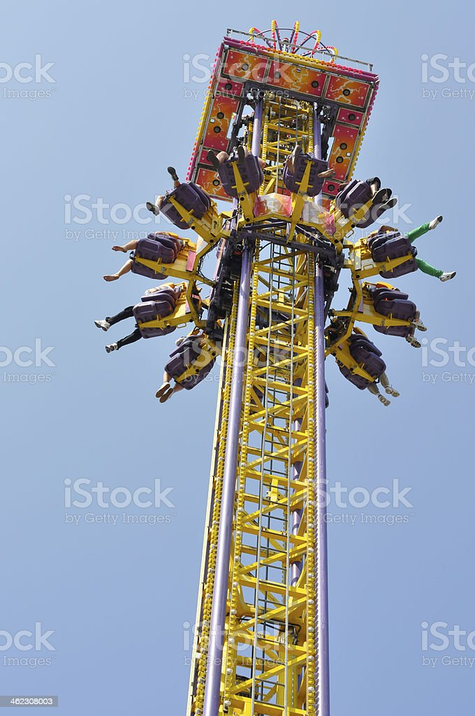 Amusement Ride stock photo