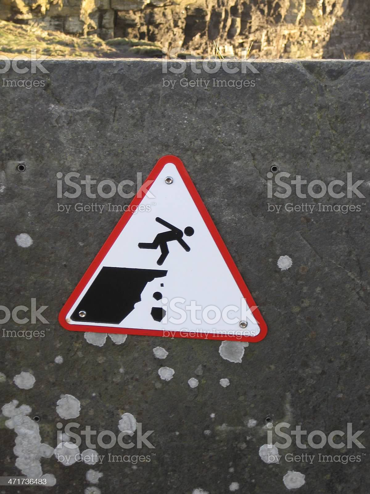 Amusing sign in County Clare, Ireland royalty-free stock photo