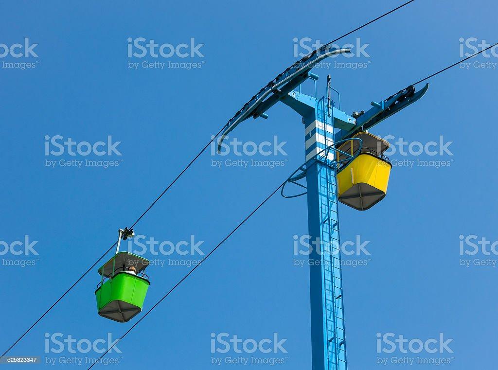 Amusment Park Ride stock photo
