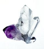 Amythyst & Quartz crystals