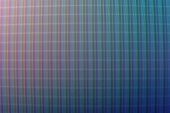 An abstract blue and gray LED screen
