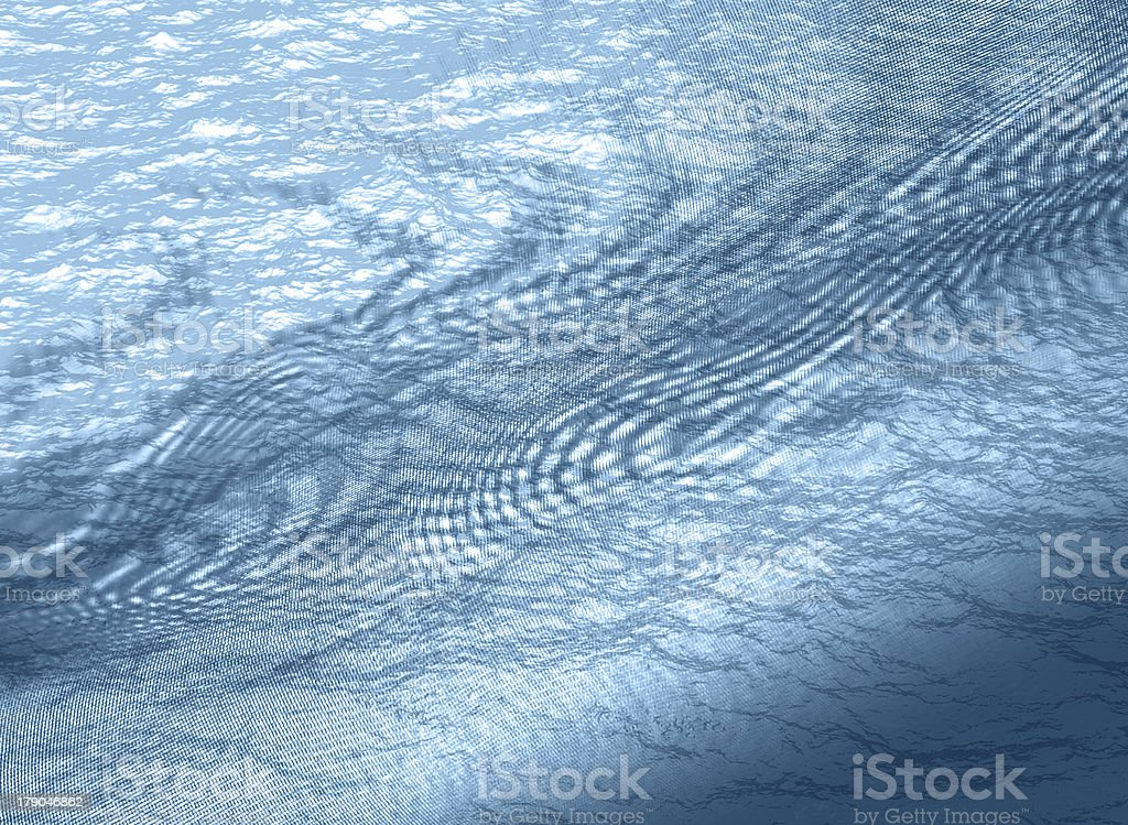 An abstract blue water background royalty-free stock photo