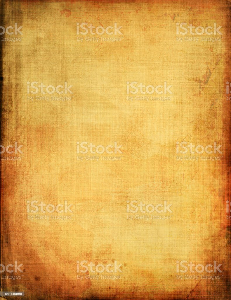 An abstract of a vintage piece of paper stock photo