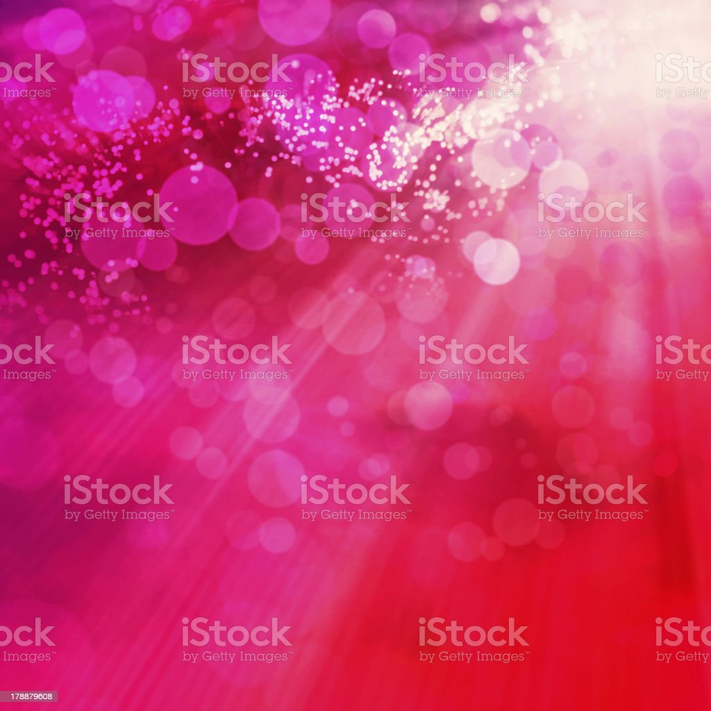 An abstract pink and red image with light from the corner royalty-free stock photo
