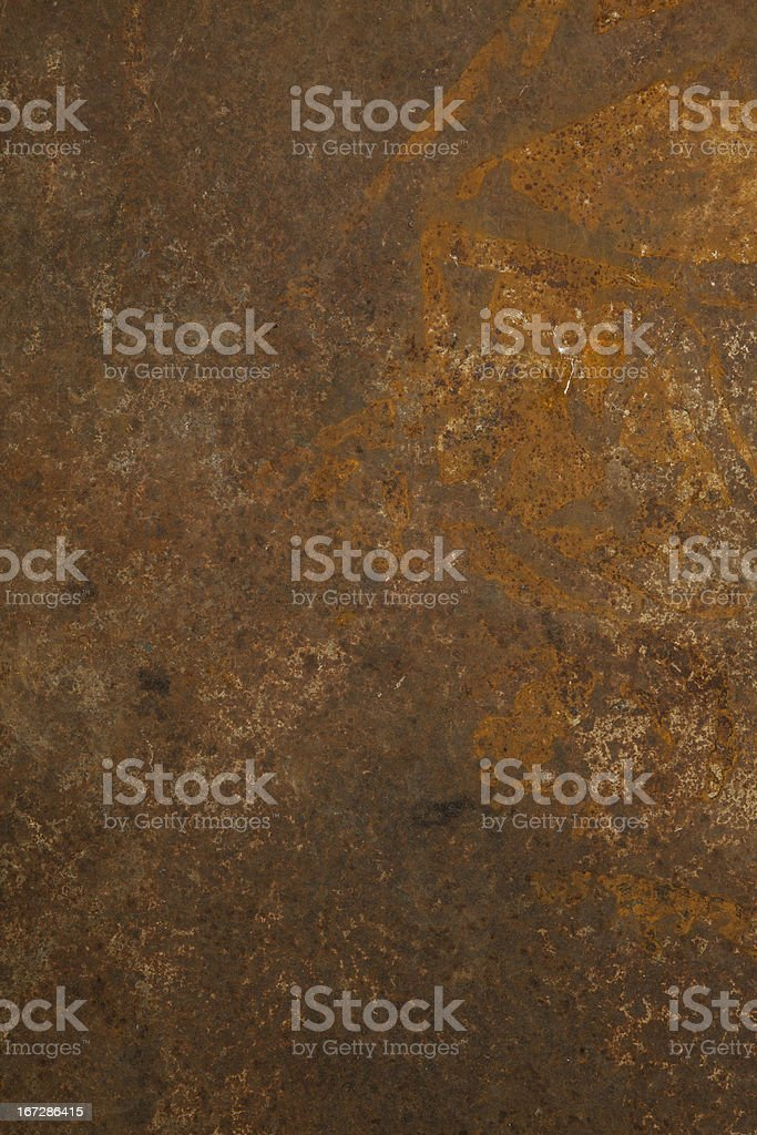 An abstract rust patterned background stock photo