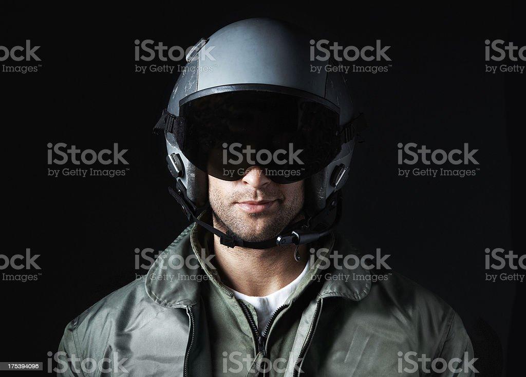 An ace aviator royalty-free stock photo