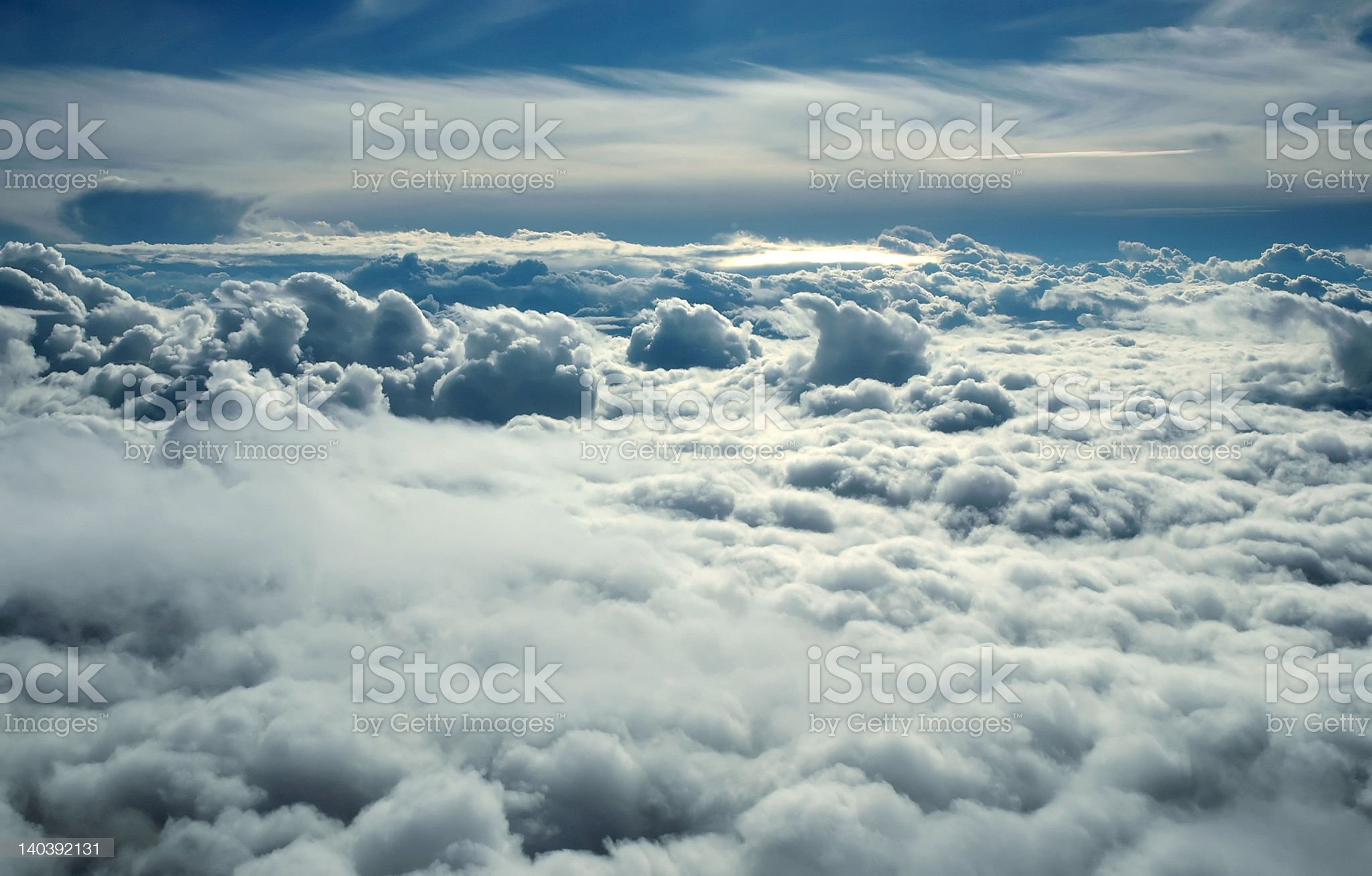 An air crew's office window view  royalty-free stock photo