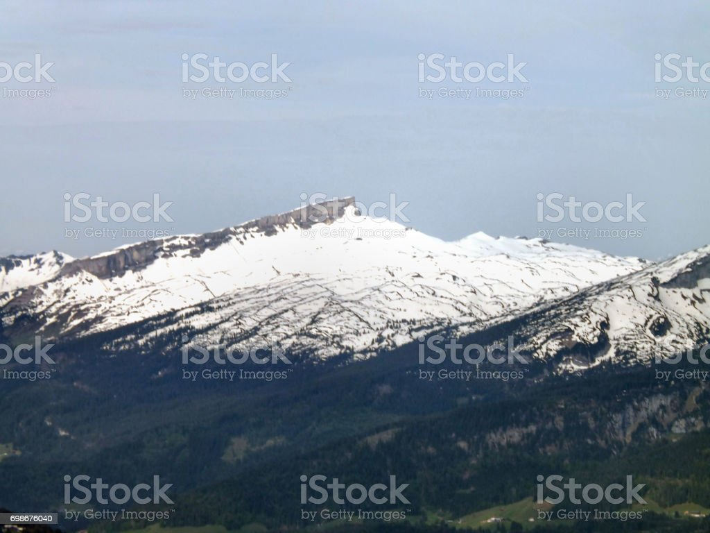 An Alpine Peak stock photo