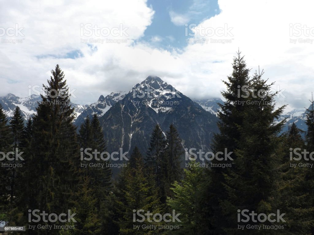 An Alpive View stock photo