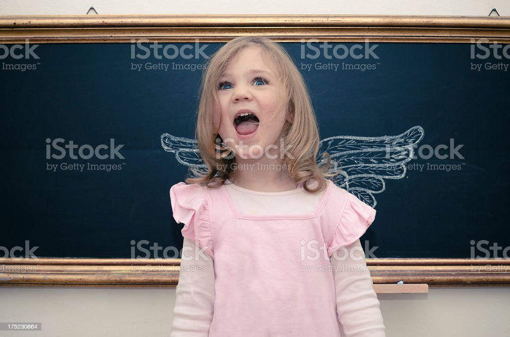 an angel stock photo
