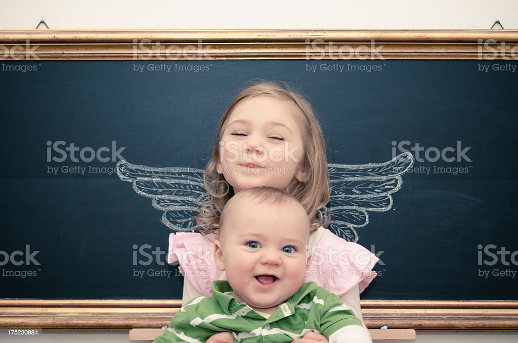 an angel royalty-free stock photo