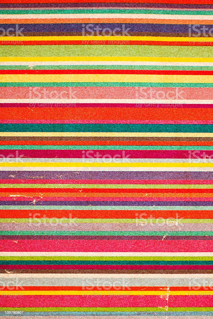 An antique piece of paper with varying colored lines royalty-free stock photo
