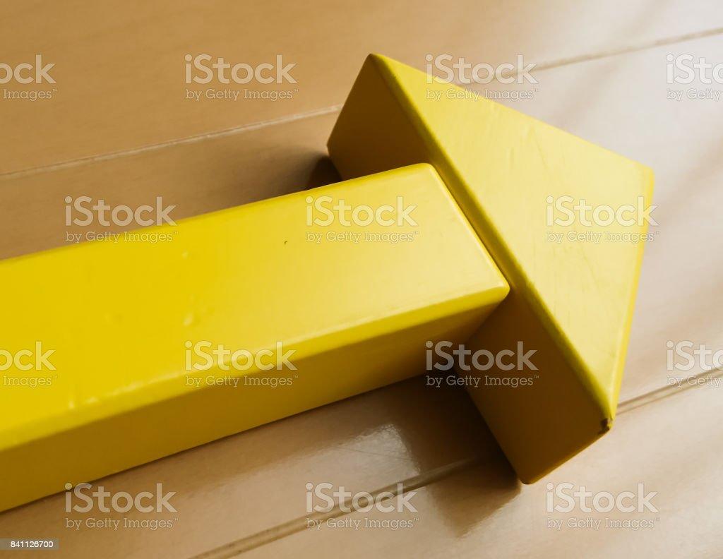an arrow stock photo