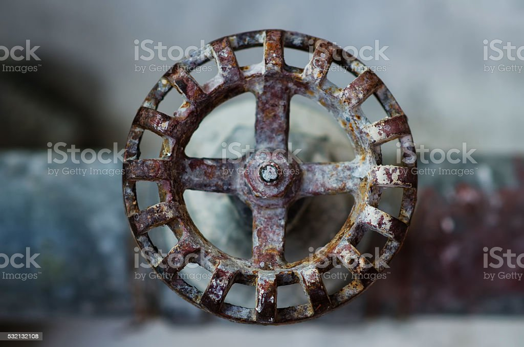 An ashtray on the table. stock photo