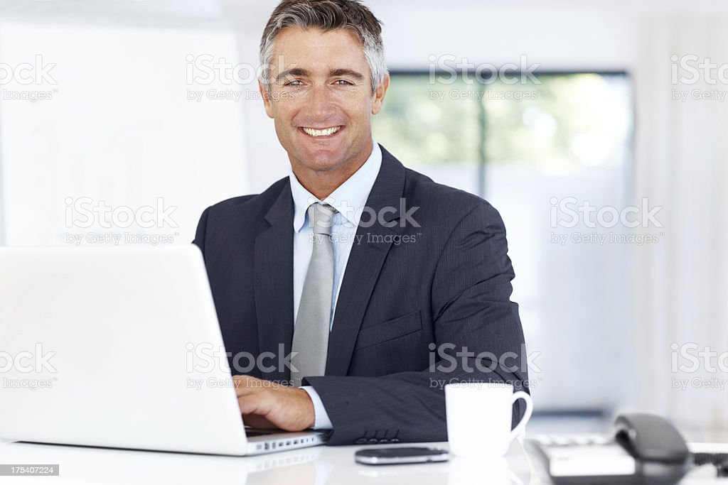 An asset to any team - Successful executives stock photo