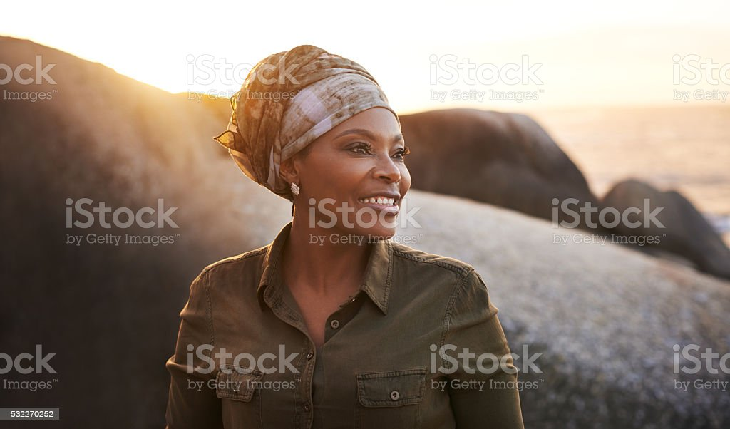 An awesome day outdoors is heard to beat stock photo