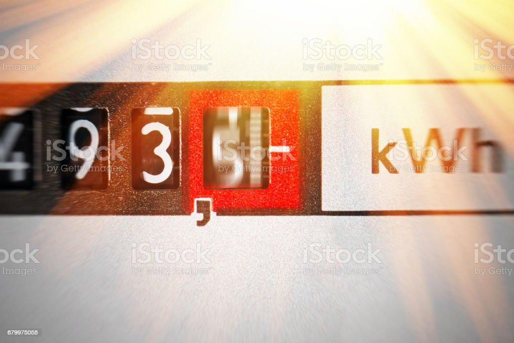 An electricity stock photo