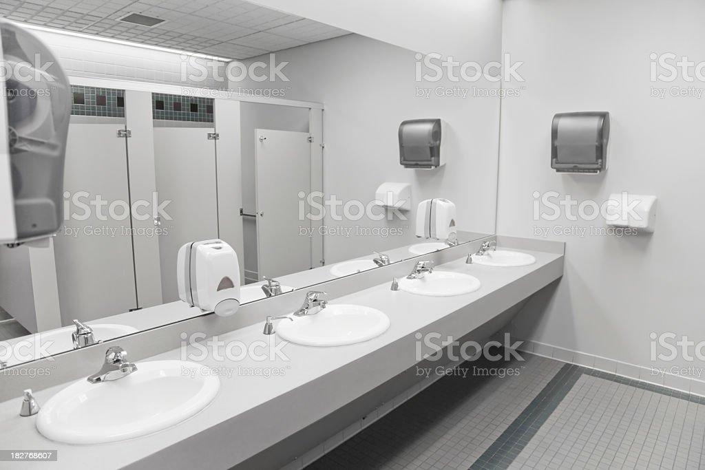 Public Bathroom Sink