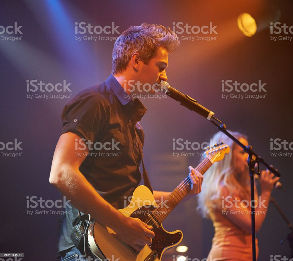 Frontman! royalty-free stock photo