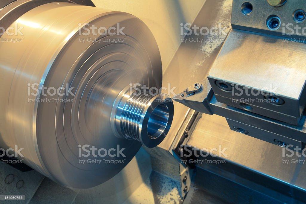 An external diameter revolving stock photo