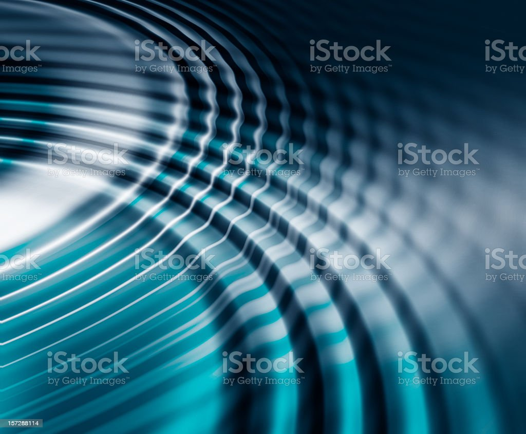 An illustration of a water ripple effect stock photo