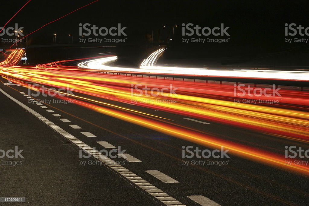 An image of a object moving faster than the speed of light stock photo