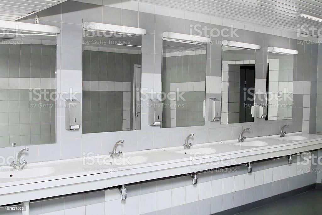 Public Bathroom Mirror public restroom pictures, images and stock photos - istock