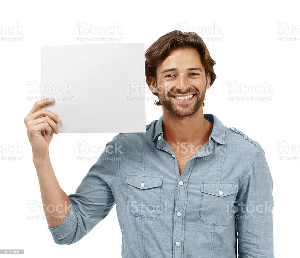 An offer you cant resist royalty-free stock photo