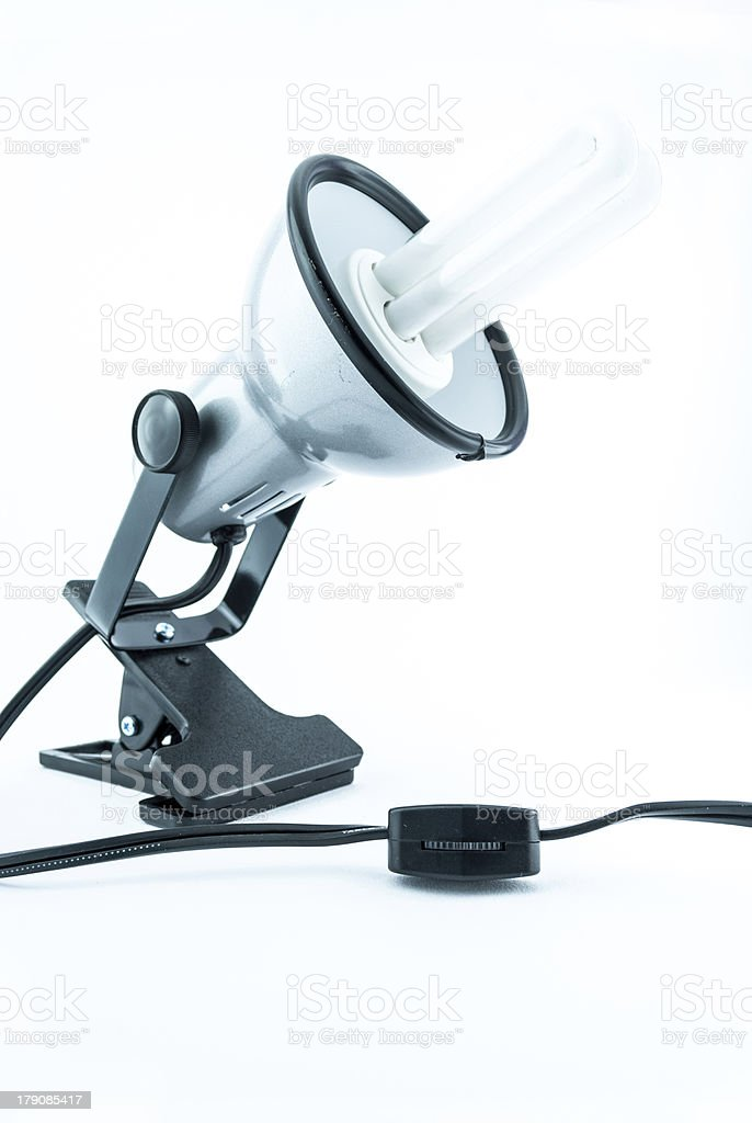 An office desk lamp royalty-free stock photo