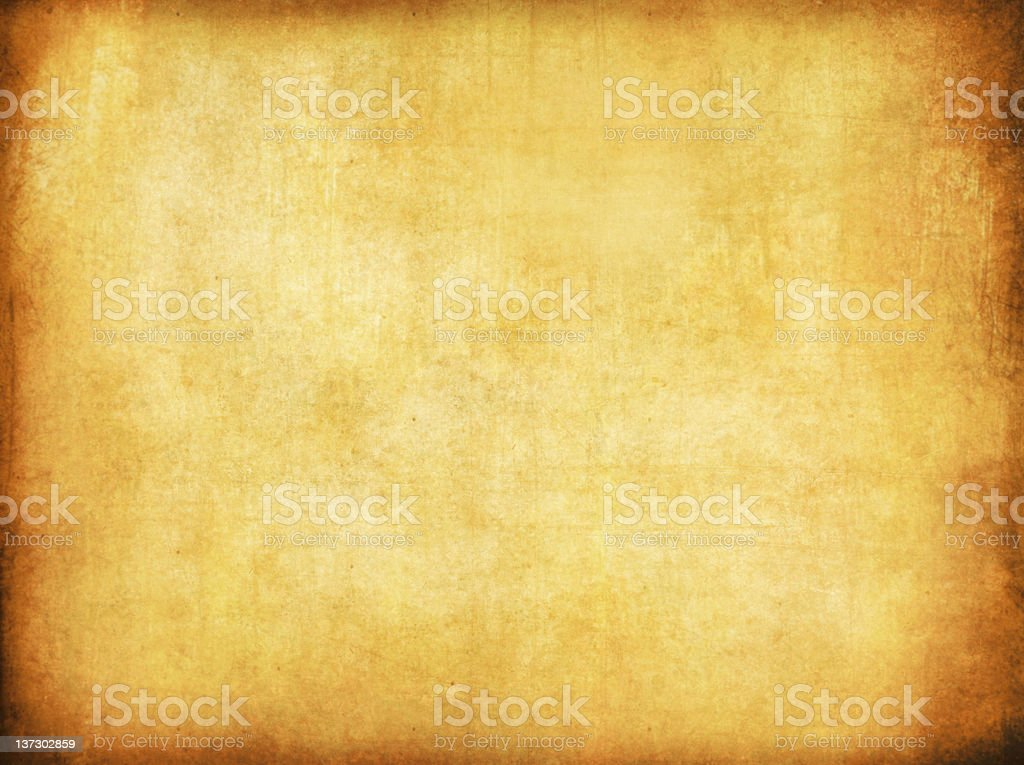 An old paper with dark borders royalty-free stock photo