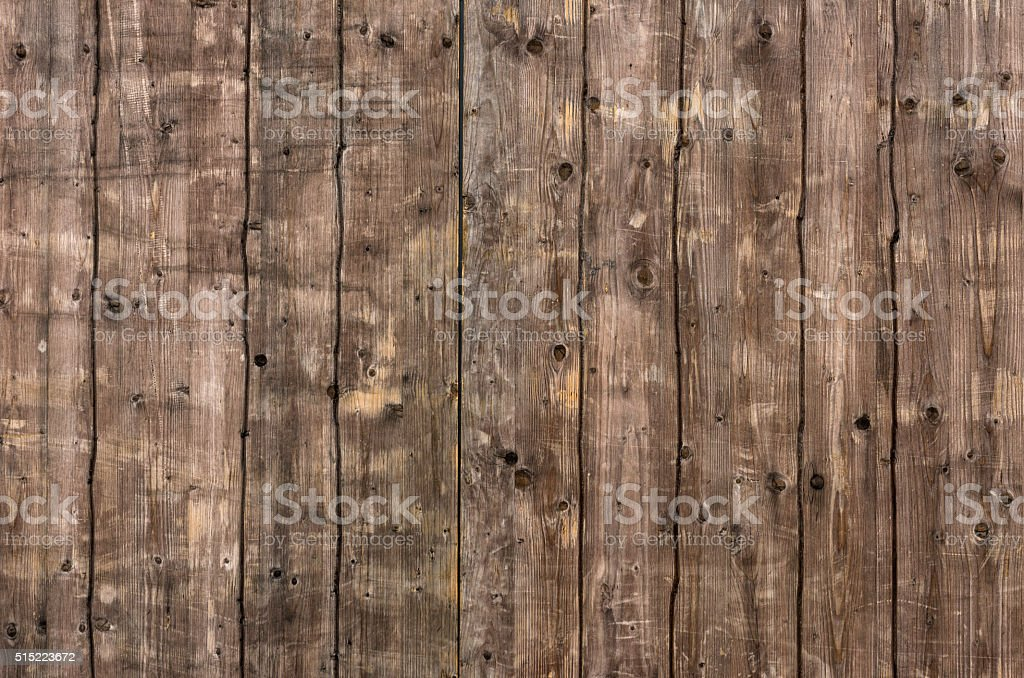An old wooden wall stock photo