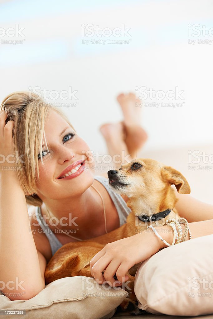 An unbreakable bond royalty-free stock photo