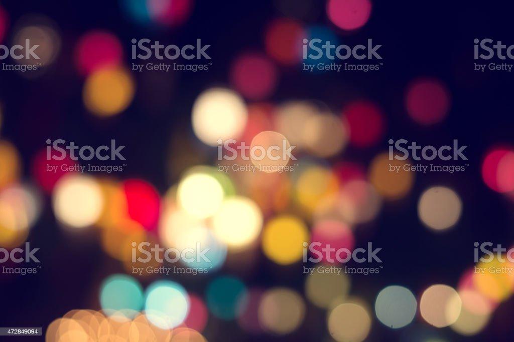 An unfocused blurred light broken background stock photo